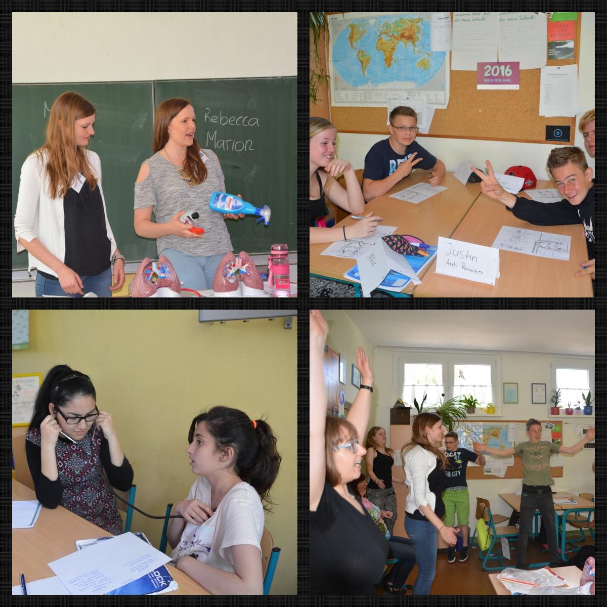Eindrücke vom letzten Schulbesuch in Erfurt