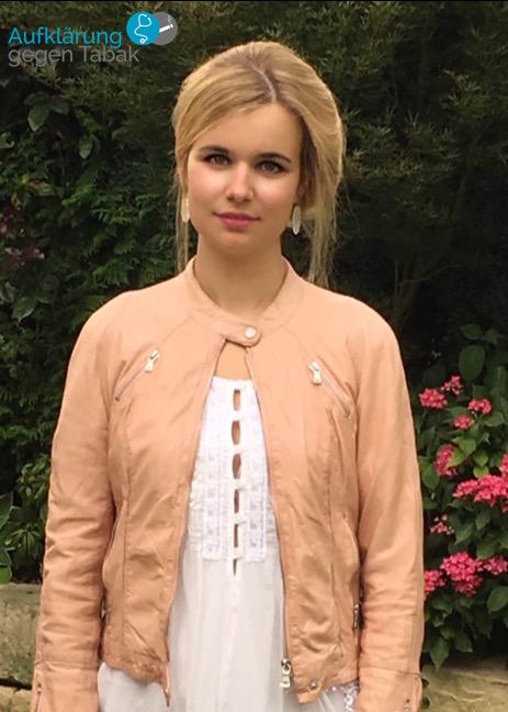 Medizinstudentin Anna Beltz