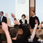 100% Zustimmung: Ailís Haney und Fabian Buslaff übernehmen den Vorstandsposten für Lehre