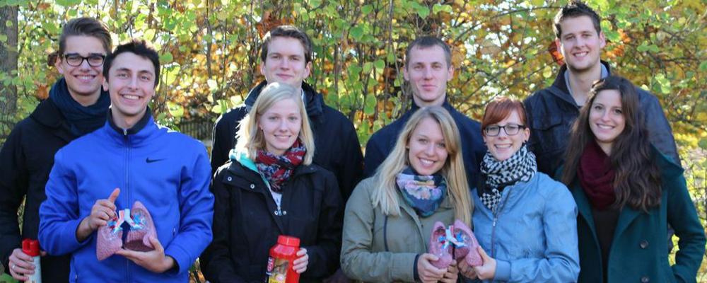 Erste Gruppe in Gießen