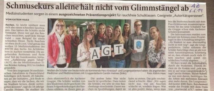 Medizinstudenten_Aachener_Zeitung