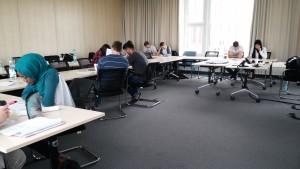 Bild aus dem Seminar (gehalten von Titus Brinker; Curriculum von Prof. Dr. Tobias Raupach und Titus Brinker)