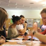 In der Ausbildung wird der erfahrene Schülermentor selbst zum Schüler.