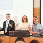 100% Zustimmung: Selina Schmidt und Benedikt Gaim sind im Vorstand von Aufklärung gegen Tabak e.V.