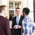 Austausch mit der neuen Gruppenleitung in Münster: Lukas Rohloff und Sanjeevan Raveendranathan