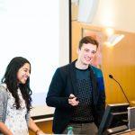 Gute Freunde und starkes Team: Aayushi Srivastava und Caelán Haney aus Heidelberg
