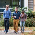 von links Dr. Titus Brinker, Marc Silchmüller, Gabriel Hillebrand