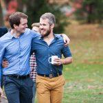 Dr. Titus Brinker und Marc Silchmüller - mittlerweile langjährige Freunde